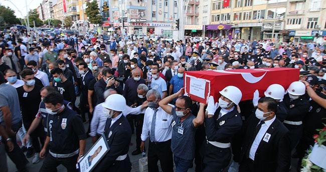 Konyalı şehit polis memuru Onur Küçük son yolculuğuna uğurlandı