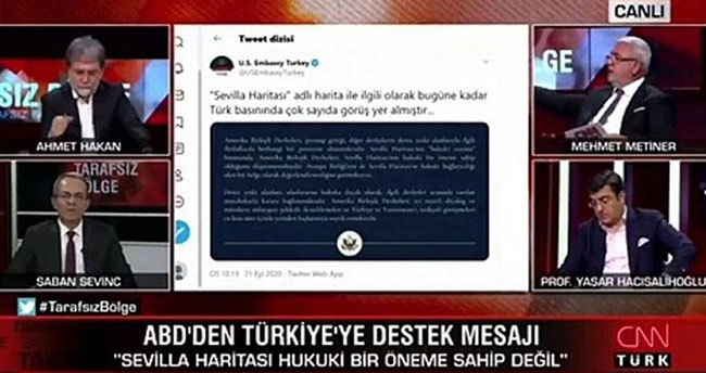 CNN Türk'te konuşan Mehmet Metiner'in hatası düzeltilince dondu kaldı!