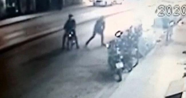 Konya göz göre göre elektrikli motosiklet hırsızlığı!