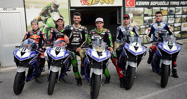 Milli motosikletçiler Fransa'da