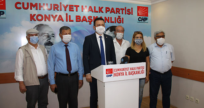 CHP Konya İl yönetimi esnafın sorunlarını dile getirdi