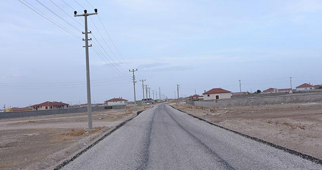 Büyükşehir Belediyesi Cihanbeyli'ye 211 kilometre mahalle yolu kazandırdı
