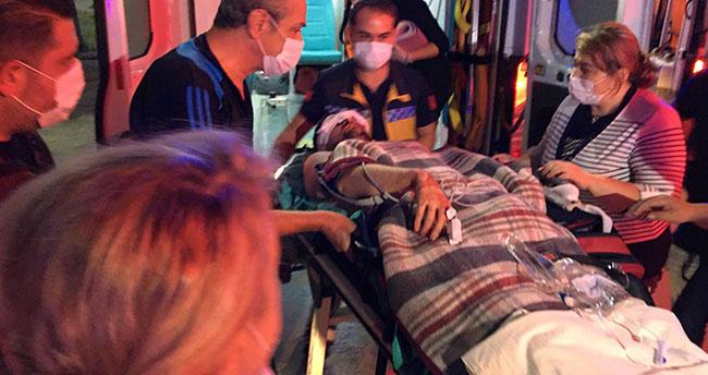 Konya'da bıçaklı saldırıya uğrayan avukat yaralandı
