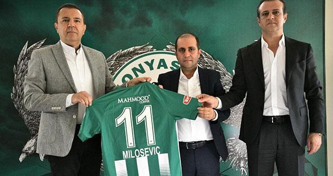 Mahmood Coffee, Konyaspor'un forma sponsoru oldu