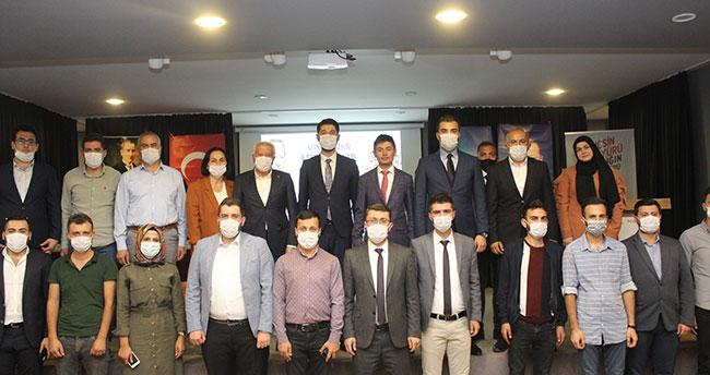 AK Parti Bozkır İlçe Gençlik Kollarının 6. Olağan Kongresi yapıldı