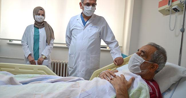 İnme geçiren hasta, hava ambulansıyla getirildiği Konya'da sağlığına kavuştu