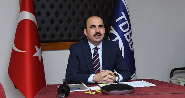 Başkan Altay, TDBB Yönetim Kurulu Toplantısına katıldı