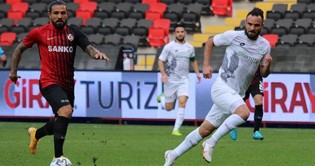 Konyaspor Gaziantep'ten puan alamadı