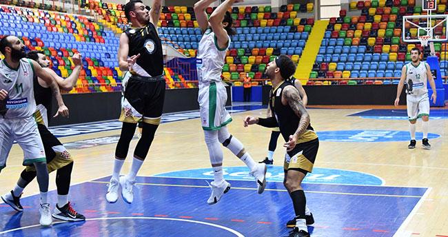 Konya Basket farklı yenildi