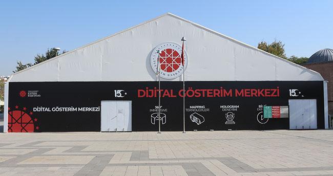 """İletişim Başkanlığı Dijital Gösterim Merkezi'nde """"29 Ekim Cumhuriyet Bayramı"""" özel gösterimi"""