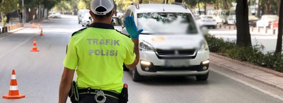 Konya'da 2 bin 317 sürücüye ceza