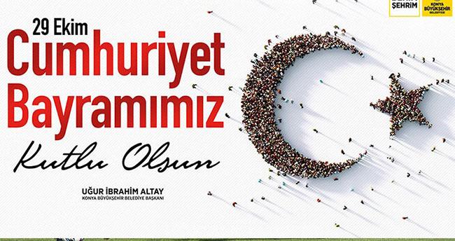 Başkan Altay: Cumhuriyet Bayramımız kutlu olsun