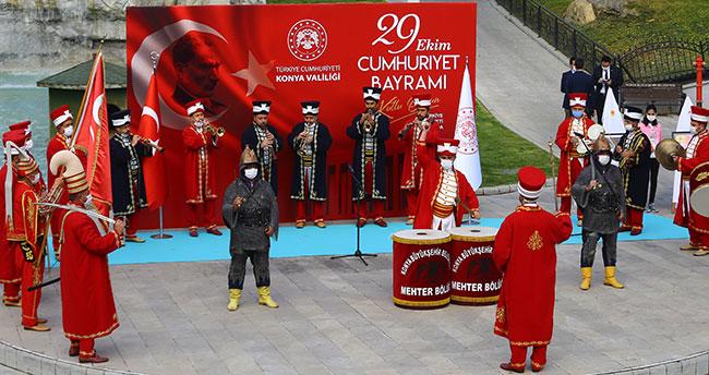 29 Ekim Cumhuriyet Bayramı Konya'da kutlandı