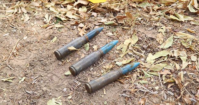 Konya'da temizlik yapan belediye işçisi uçaksavar mermileri buldu