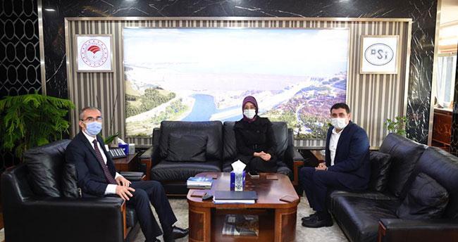 Başkent ziyaretinde Hüyük'ün DSi yatırımları ele alındı