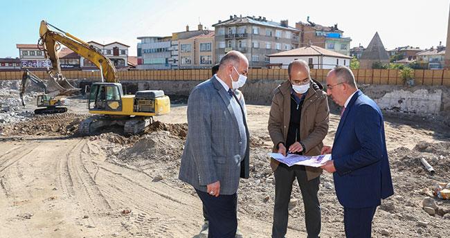 """Başkan Kavuş: """"Şükran Mahallemizi şehrimize kazandırmak adına çalışıyoruz"""""""