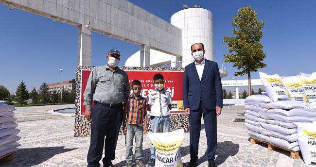 Konya Büyükşehir'den hayvansal üretime destek
