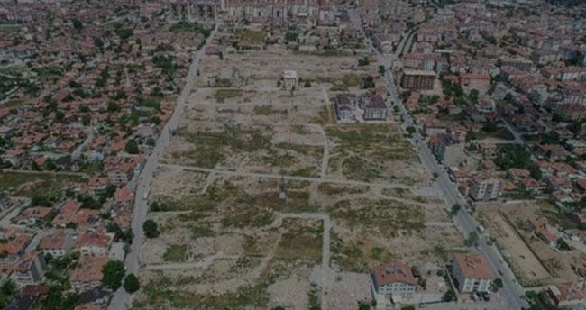 Konya Meram'da belediye 26 bin 740 metrekare arsa için satış ihalesi açtı