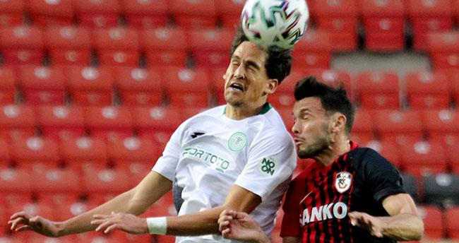 Konyaspor'un deplasman golü yok
