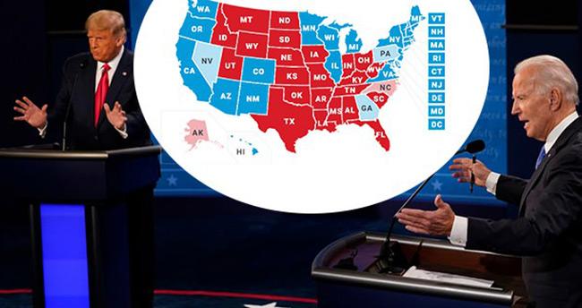 ABD seçimlerinde zaferini ilan etti: Büyük bir farkla kazandım