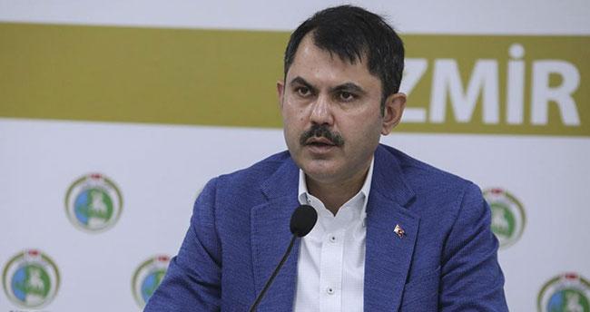 Çevre ve Şehircilik Bakanı Kurum: İzmir'de 61 bin 735 binada hasar tespit çalışması tamamlandı