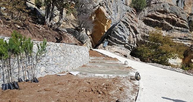 Konya'daki Çamlık Mağaraları turizme kazandırılıyor