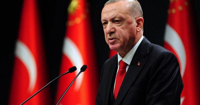 Cumhurbaşkanı Erdoğan: Ülkemizin yeni dönemin kurucu iradelerinden biri olması için var gücümüzle çalışıyoruz