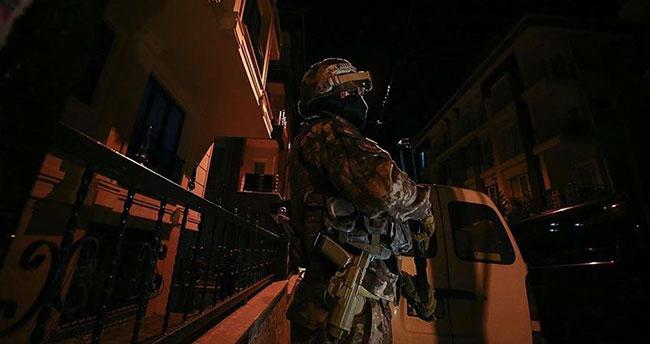 İstanbul'da terör örgütü DEAŞ'a yönelik eş zamanlı operasyon: 17 gözaltı