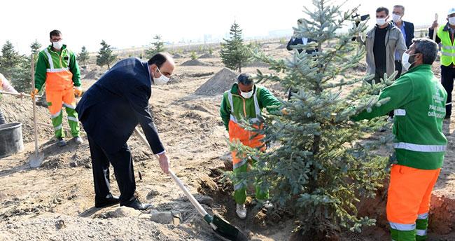 """Başkan Altay: """"Milli Ağaçlandırma Günü geleceğin Türkiyesi için çok önemli bir adım"""""""