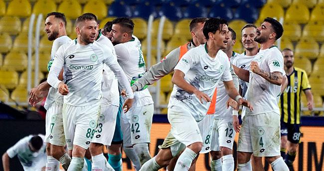 Lige Konyaspor damgası!