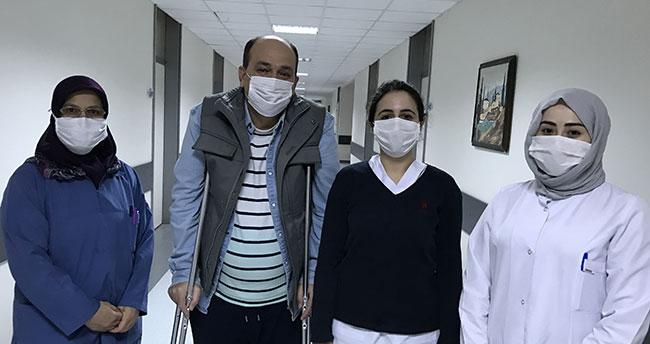 Türkiye'nin yurt dışında Kovid-19 tedavisi gören Türk şoföre ilgisi, Avusturyalıları şaşırttı