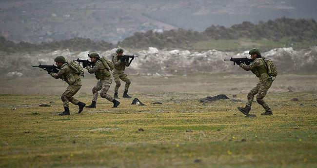 MSB: Barış Pınarı bölgesinde 14 PKK/YPG'li terörist etkisiz hale getirildi