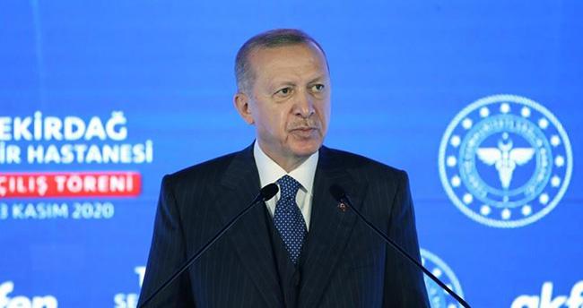Cumhurbaşkanı Erdoğan: Üretilen aşı şirketlerin kar hırsına kurban edilmemeli