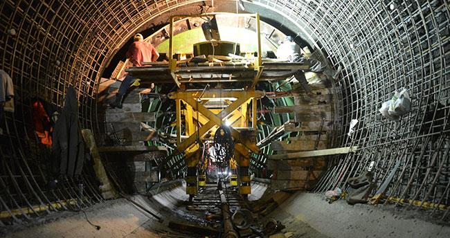 KOP'un ikinci tünelinde 7 gün 24 saat çalışma