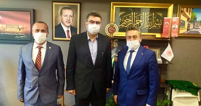 Belediye başkanları Koçer ve Tutal'dan Ankara ziyaretleri