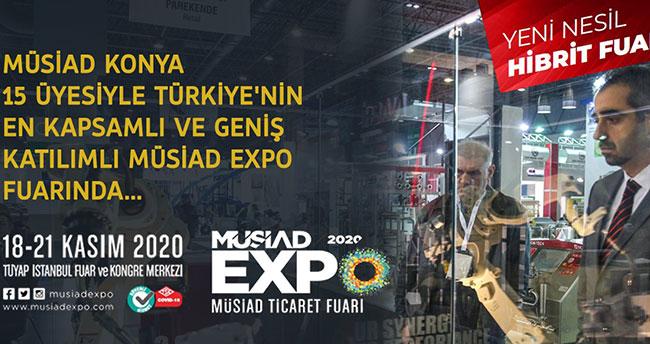MÜSİAD EXPO'da Konya rüzgarı