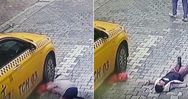Esenyurt'ta feci kaza, 4 yaşındaki çocuğun üstünden ticari taksi geçti