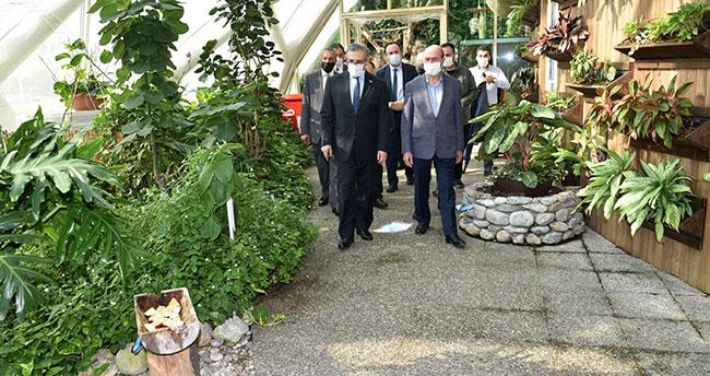Pakistan Büyükelçisinden Konya Tropikal Kelebek Bahçesi'ne tam not