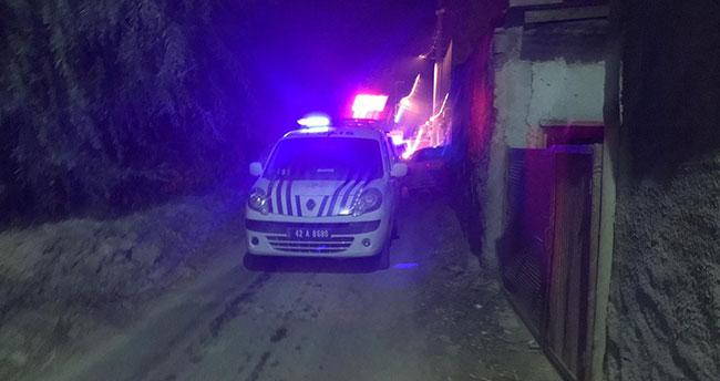 Konya'da evlat dehşeti! Babasıyla tartışıp evde yangın çıkardı
