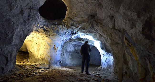 Konya'daki Roma dönemi maden galerileri kültür turizmine göz kırpıyor