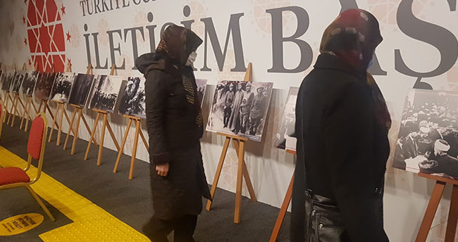 """""""10 Kasım Anılarla Atatürk Sergisi"""" Dijital Gösterim Merkezinde ziyaret edilebiliyor"""
