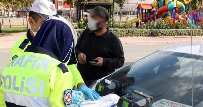 Konya'da trafik denetimlerinde 39 araç trafikten men edildi