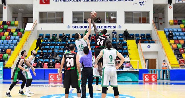 Konya Basket zirveyi sevdi