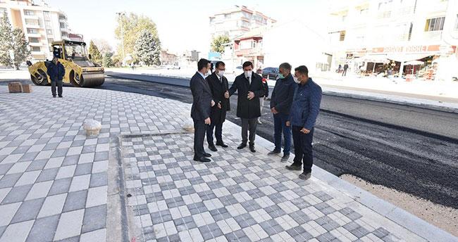 Karatay'da yol genişletme ve ve düzenleme çalışmalarına sona geldi