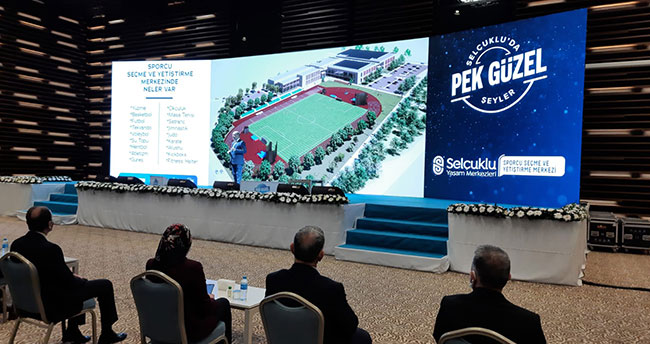Selçuklu Belediyesinden dev spor yatırımı! Sporcu Seçme ve Yetiştirme Merkezi yapılıyor
