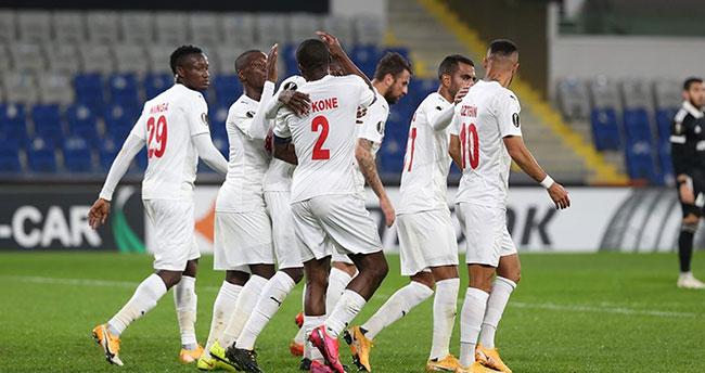 Demir Grup Sivasspor, Avrupa'da ikinci galibiyetini aldı