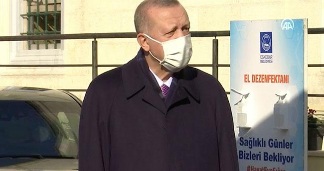 Erdoğan: Şu anda Sağlık Bakanlığımızın da attığı adımlarla tedbirleri almaya mecburuz