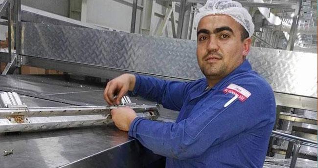 Karaman'da kafasını kek makinesine kaptıran işçi hayatını kaybetti
