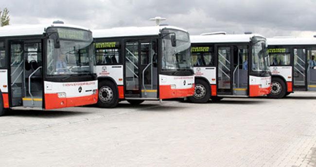 Konya'da sokağa çıkma kısıtlamalarında otobüs ve tramvay seferleri devam edecek