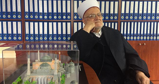 """Mescid-i Aksa İmam Hatibi Sabri: """"Türk halkının Kudüs davasında durduğu yer çok stratejik"""""""